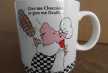 Vintage coffee cups / All about Vintage mugs and cups / by Rick Mayes