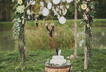 Свадьба в стиле бохо.