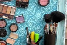 Vanity & makeup organization!!  / by MLO
