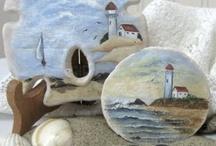 Dollari di Sabbia dipinti