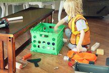 Construction/building preschool