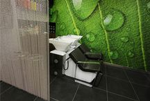 Cocoon Hair Salon by Crown Interiors / Crown Interiors designed and constructed the interiors of the Cocoon Hair Salon in Reading.