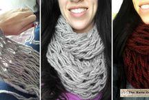 Arm-Hand knitting