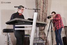 Making Of Cryss Band / In spatele scenei la sedinta foto-video organizata de prietenii si colaboratorii nostri de la Visual ADS www.visual-ads.ro. Making Of Formatie Nunta Cryss Band, formatie pentru nunti, botezuri, evenimente www.formatiacryss.ro