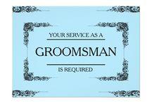 Groomsman Invitation Cards / Groomsman Invitation Cards