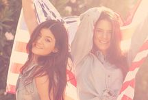 Kendall & Kylie Jenner  / by Jacquelyn Gales