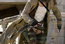 Milla Jovovich ( Resident evil )