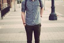 Men's Fashion / Estilo masculino - Inspirações