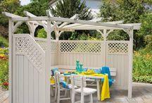 Outdoor patio living