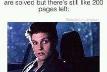 Books, fandoms etc.