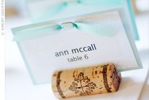 Escort Cards/Place Cards/Invitations