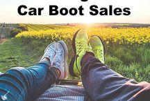 Car boot sale/ garage and yard sales