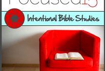 Bible Studies / Bible reading plans and Bible studies