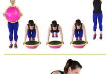"""cvičení na """"tělo"""" / pilates"""