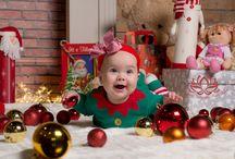 Karácsonyi babafotózás