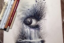 surreal eyes