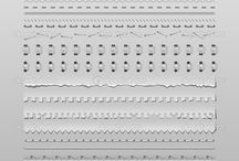 Ref - Zbrush - Stitches - Dividers