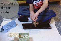 Montessori Silence games
