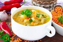 Σούπα λαχανικών με κολοκυθάκια / Νόστιμη και υγιεινή σούπα λαχανικών!