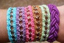 Pulseiras tricot no YouTube