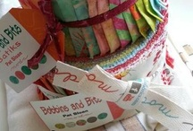 Quilt Pat Sloan Bobbin's and Bits Fabric Line / by Pat Sloan