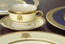 Lenox la Casa Albă / Lenox are onoarea de a fi primul porțelan american care a stat la masa președinților de la Casa Albă. Din 1918 până în prezent, șase dintre ei au ales Lenox.