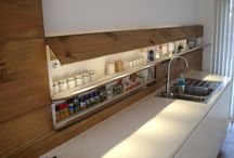 Kitchen ideas / Storage, good ideas, tips and gadgets for a dream kitchen.