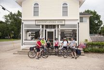 "Michigander Bicycle Tour XXV / The Michigander Bicycle Tour combines beautiful trails, Great Lakes beaches, lighthouses, rivers, virgin white pines, and a healthy serving of brewpubs. Dubbed ""One of the top multi day rides in America"" by Bicycling Magazine. Images from the 2014 tour which took place in the West Michigan towns of Fruitport, Grand Haven, Muskegon, North Muskegon, Hart, Newaygo, Comstock Park/Grand Rapids, Holland, South Haven and Fennville.  Website: www.michigander.bike"