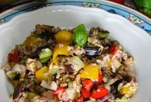 insalata di farro e di riso