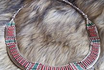 Nepal necklaces from silver and gemstones / Nepal necklaces from silver and gemstones