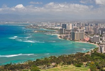 Hawaii - Oahu -- http://travelin-mate.com/Hawaii_E/Oahu.html / Similar to all other Hawaiian Islands people expect Oahu, Honolulu, and Waikiki to embody their imagination of the South-Sea dream, including flower-wreathed beauties, lush and tropical vegetation, and endless sandy and deserted beaches. Without destroying any of these dreams... Read more @: http://travelin-mate.com/Hawaii_E/Oahu.html