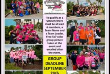 "D'Feet Breast Cancer Teams / Enter your group for the annual D'Feet Breast Cancer ""Celebration of Life"" event and participate in the certified 5k/10k runs, 5k walk, or kids run/walk."