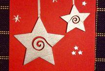 Открытки к Рождеству своими руками' / Открытки к Рождеству и Новому Году! Часть открытое сделала сама, часть из нета!