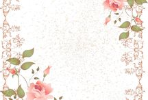 Vintage flowers and roses images