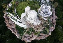 wieńce na cmentarz