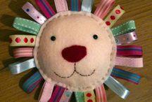 Self-sewn toys - Magam-varrta játékok