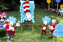 Dr. Seuss Birthday Party  / by Tara Vickers