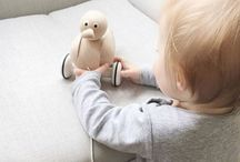 WOODEN TOYS / Introducing puppy, ducky & bunny to the MORI world. We've teamed up with Sarah & Bendrix to bring you a collection of soft polished, untreated & unvarnished natural beech wood toys. Only the best for baby