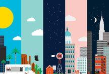 city illust