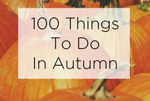 Autumn / I love Autumn! Here's what inspires me during my favourite time of year.