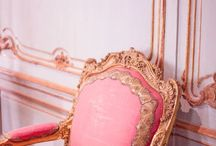 Lucy Doheny / Concept images for the Greystone Maison de Luxe showcase house installation of Mrs. Doheny's bedroom.