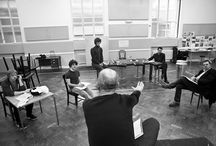Mojo rehearsal pictures / The cast of Mojo during rehearsals. Tickets available here: http://www.atgtickets.com/shows/mojo/harold-pinter-theatre/