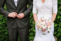 Panni & Csaba wedding / romantikus esküvő, pasztell színekben