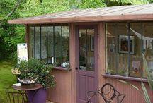 Idées pour l'abri de jardin