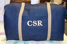 kids duffle bags / great personalized travel bags for kids!
