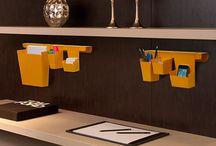 Escritório / Acessórios para escritório com design inteligente pensando na otimização e organização de espaços personalizados.