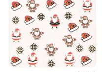 Produits Suggestion Noël par Onglemod / Pour Noël vos ongles brilleront à nouveau de milles feux soit avec tout simplement une petite décoration au thème de Noël, soit très classe avec des gels pailletés et des dégradés de couleurs