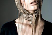 hats, hairdress, etc. / что-нибудь такое на голове