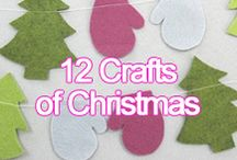 12 Crafts of Christmas / We are very excited to get you in the festive spirit with our 12 Crafts of Christmas – easy decoration ideas to make your Christmas extra special!
