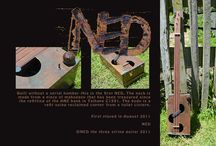 NED the three string guitar / NEDs are hand crafted instruments from Shannon New Zealand